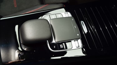 Mercedes A-Class - centre console