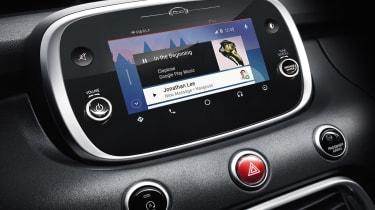 Fiat 500X music stream