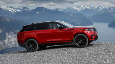 Range Rover Velar - off-road static