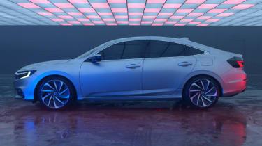 2018 Honda Insight side profile
