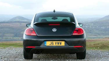 Used Volkswagen Beetle - full rear