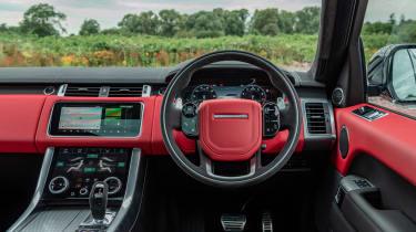 Range Rover Sport HST - dash