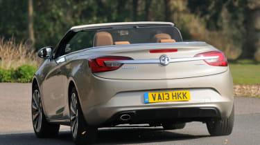 Vauxhall-Cascada-2014-rear-action