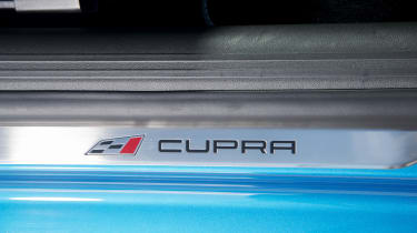 SEAT Leon Cupra 290 2016 UK - door sill