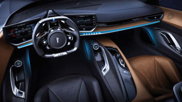 Pininfarina Battista - dash