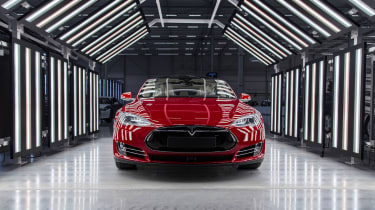 The Model S premium saloon has caught the imagination of affluent early adopters