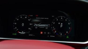 Range Rover HST - dials