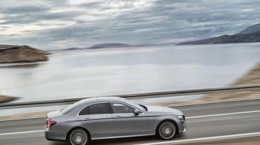 Mercedes E-Class 2016 side on