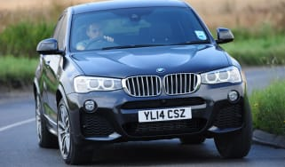 New BMW X4 2014 UK action