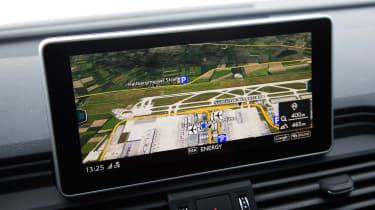 Audi SQ5 - sat-nav