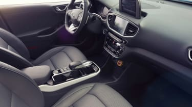 Hyundai Ioniq autonomous - interior