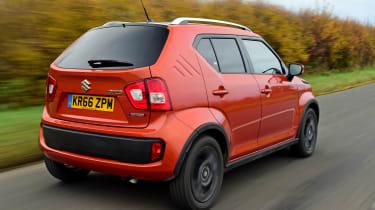 Suzuki Ignis 2016 - rear tracking