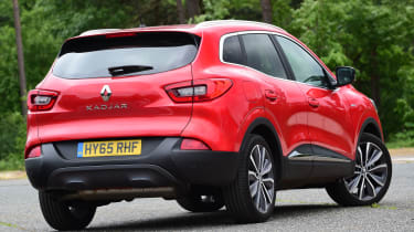 Renault Kadjar 2016 - rear quarter