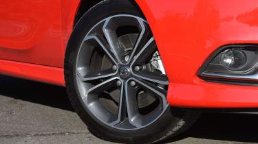 Vauxhall Corsa Red Edition - wheel