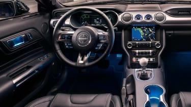 Ford Bullitt Mustang GT - dash