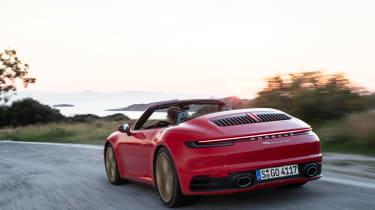 New Porsche 911 Cabriolet  rear