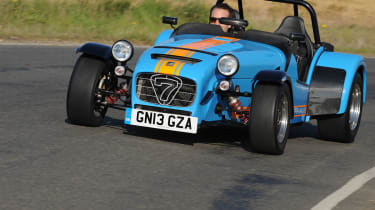 The 620 R is the fastest Caterham seven ever produced.