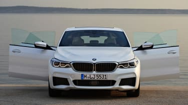 BMW 6 Series Gran Turismo - doors open