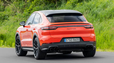 Porsche Cayenne Turbo Coupe - rear action
