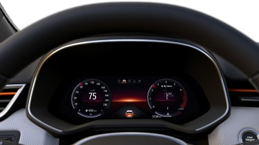 Renault Clio - virtual dials