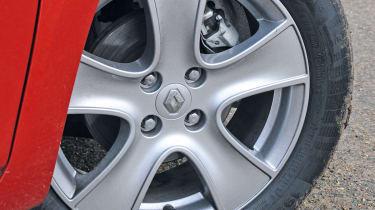 Renault Clio wheel detail