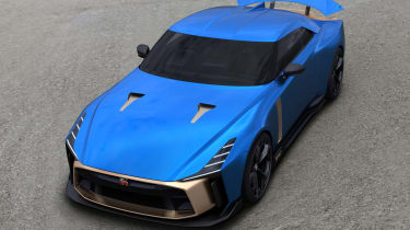 Nissan GT-R50 by Italdesign - front above