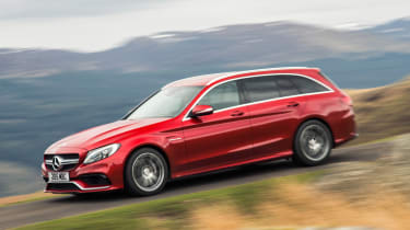 Mercedes-AMG C63 Estate 2015 side