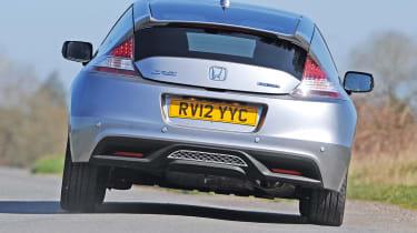Honda CR-Z rear cornering