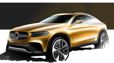 Mercedes GLC Coupe sketch
