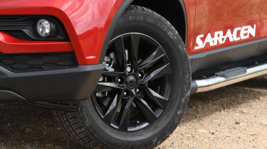 SsangYong Musso long term review - wheel