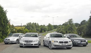 BMW 520d vs. rivals