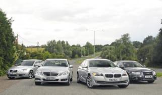 BMW 520d vs. rivals
