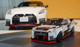 Lego Nissan GT-R NISMO - front