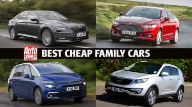 Best cheap family cars