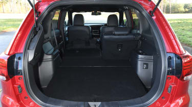 Mitsubishi Outlander PHEV - boot