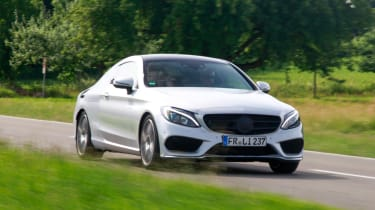 Mercedes C-Class Coupe 2016 front