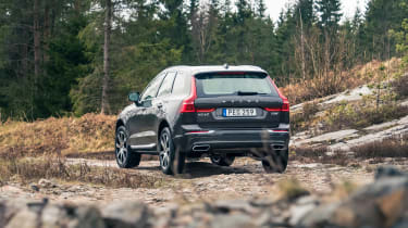 Volvo XC60 ride review - rear