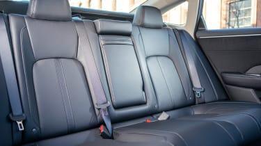 Honda Clarity - rear seats