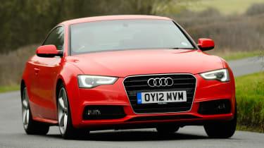 Audi A5 1.8 TFSI front cornering