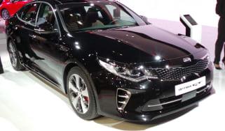 New Kia Optima GT front