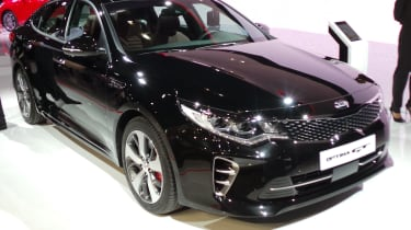 New Kia Optima GT front