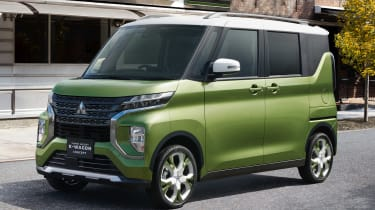 Mitsubishi Super Height K-Wagon concept - front action