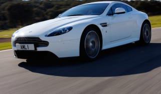 Aston Martin V8 Vantage S front