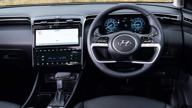 Hyundai Tucson MHEV - dash