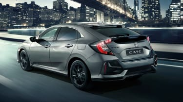 Honda Civic 2020 - rear 3/4 static