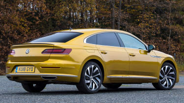 volkswagen arteon static rear