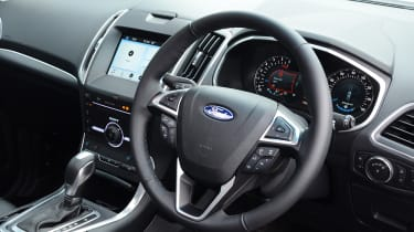 Long-term test review: Ford Edge - interior