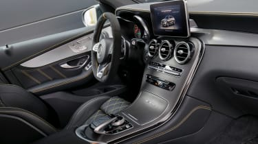 Mercedes-AMG GLC 63 Coupe Edition 1 cabin