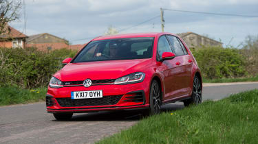 Volkswagen Golf GTI - front action