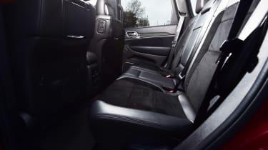 Jeep Grand Cherokee Trackhawk - rear seats